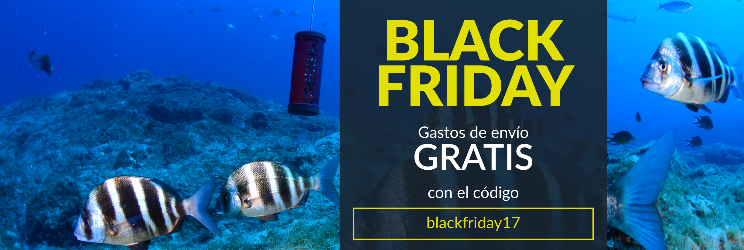black friday pesca ufishpro